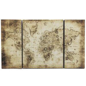 Wereld wandpaneel