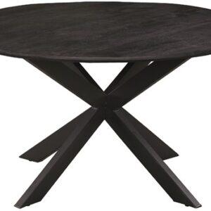 Eettafel Colombia Noir 140 cm rond