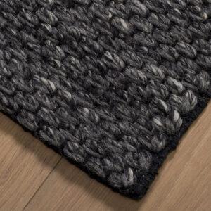 Shantra wool Basalt vloerkleed